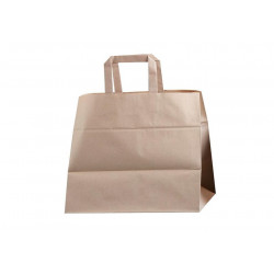 BOLSA BASE ANCHA KRAFT NATURAL
