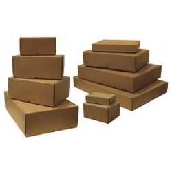 Caja cartón kraft