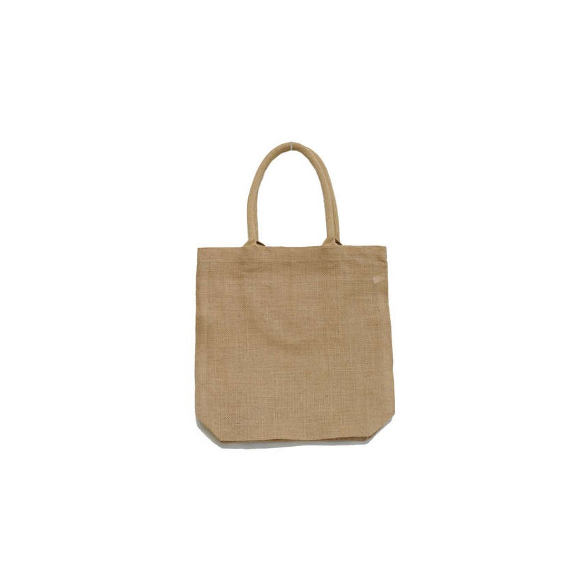 BOLSA YUTE SHOPPING 35X38+10CM ASA ALGODÓN NATURAL