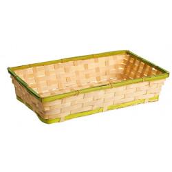 Bandeja natural de bambú...
