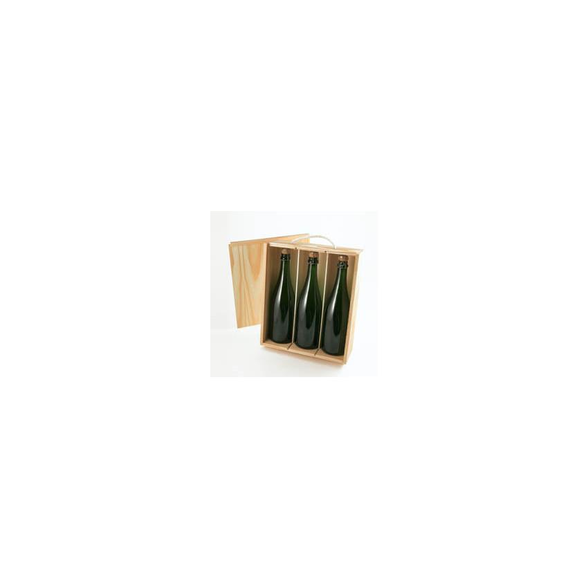 Estuches,cajas de madera para botellas y quesos