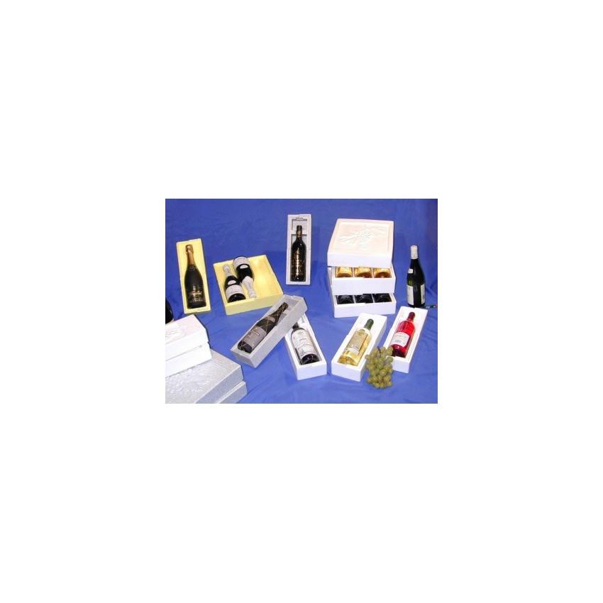 Cajas de porexpan para botellas
