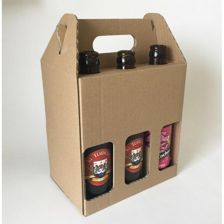 estuche cartón cerveza
