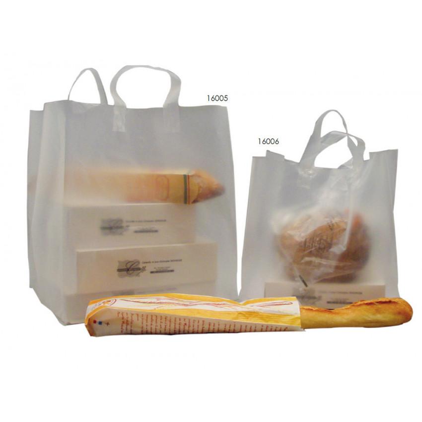 Bolsas plástico  comida para llevar o pastelería