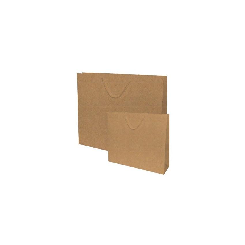 Bolsas de papel asa retorcida,plana y cordón